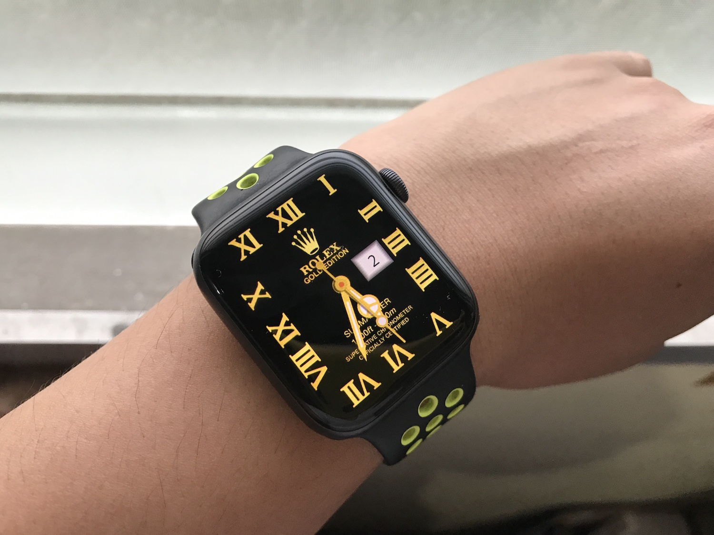 Jailbreakなしで出来る Apple Watchにカスタム文字盤を追加する方法