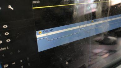 Photo of [Premiere Pro] タイムリマッピングを使用してクリップの速度に緩急をつけてみよう!