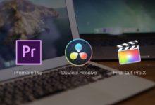 Photo of 映像編集アプリはPremiere Pro、Final Cut Pro XとDaVinci Resolveどれを選べば良いの?メリットとデメリットを見てみよう